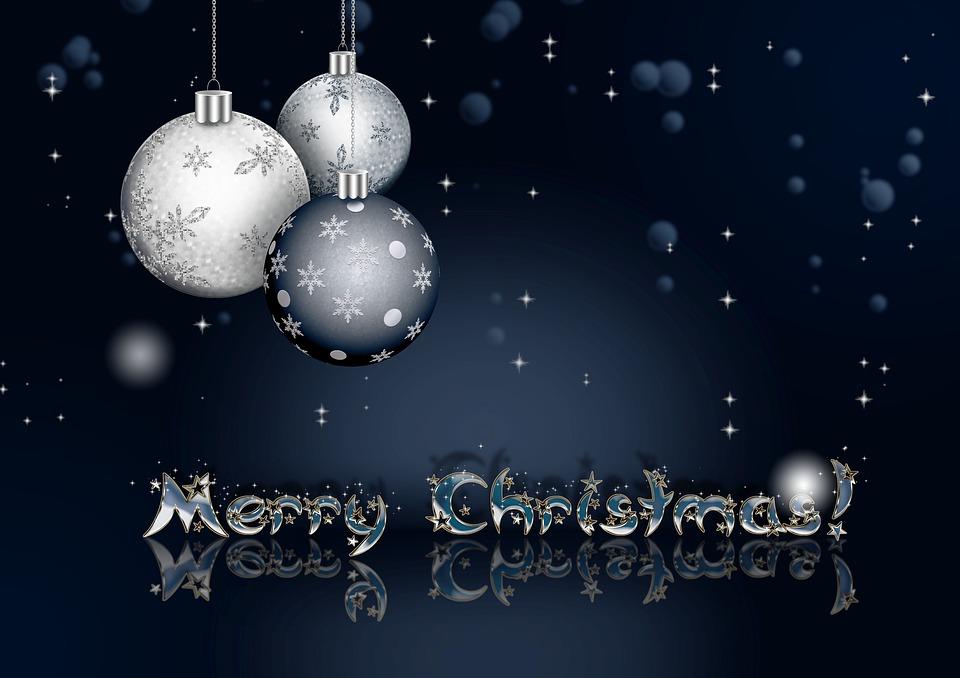 new year christmas holiday balls fantasy dark