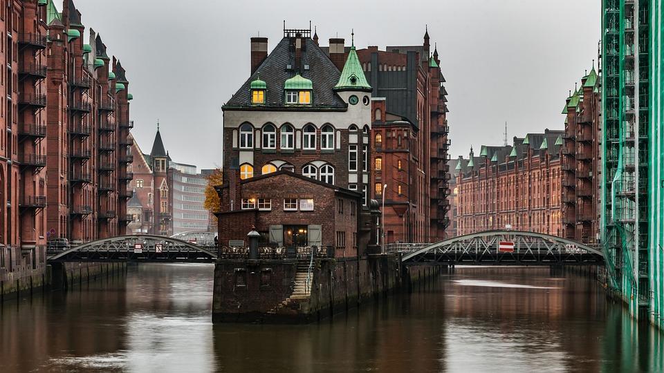 Wasserschloss & Speicherstadt