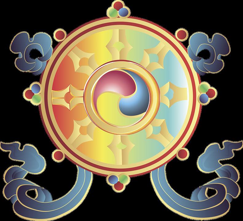 Buddhismus Symbol Religion Kostenlose Vektorgrafik Auf Pixabay