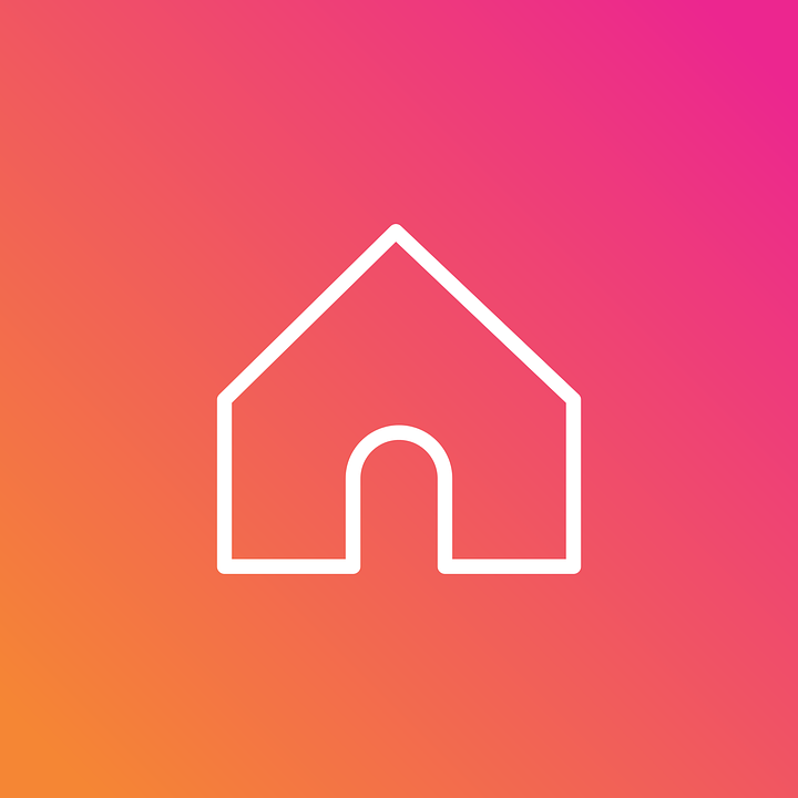 Instagram Insta Home Free Vector Graphic On Pixabay