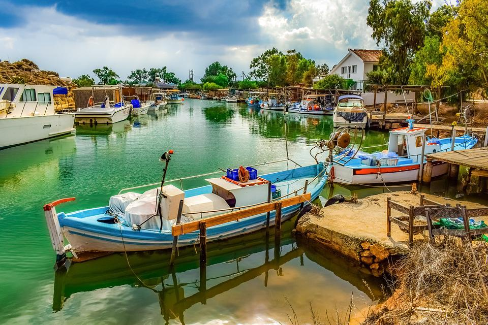Fishing Boats, Fishing Shelter, Picturesque