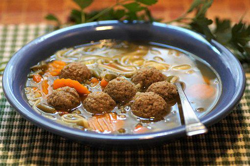 Knedlíčková, Soup, Liver, Dumplings