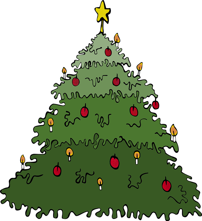 Wieso Tannenbaum Weihnachten.Tannenbaum Weihnachten Dezember Kostenlose Vektorgrafik Auf Pixabay