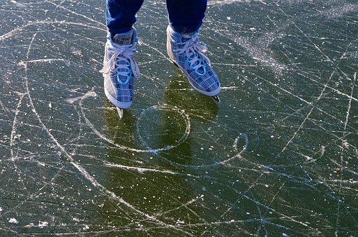 Eislaufen, Schlittschuhe, Wintersport