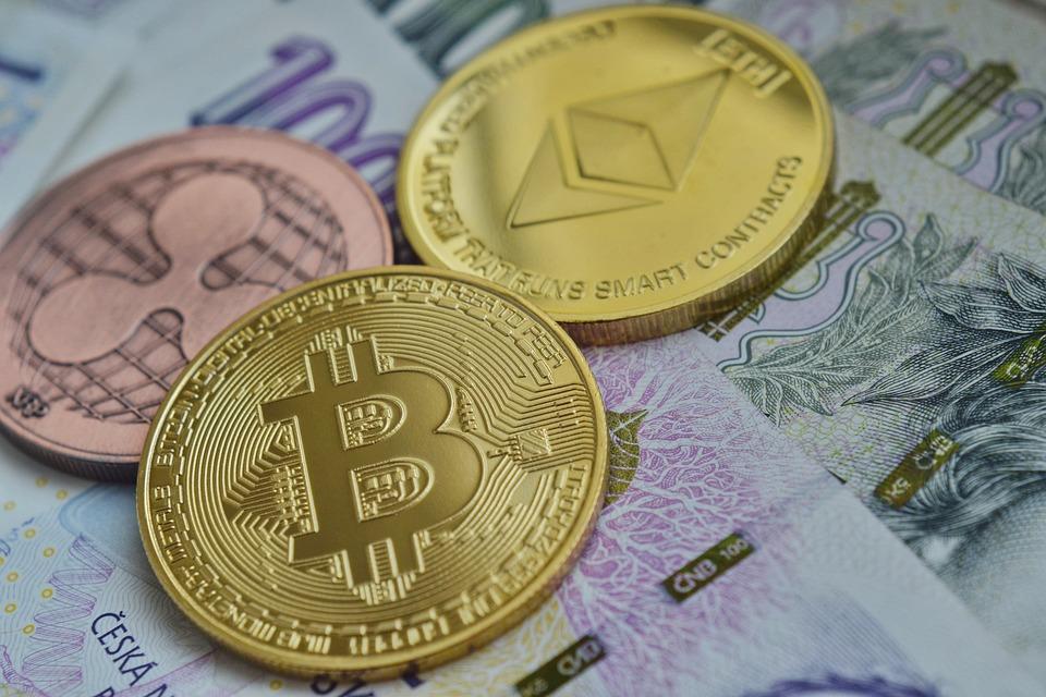 Ethereum, Bitcoin, Rippel, Cryptocurrency, Värdet Av