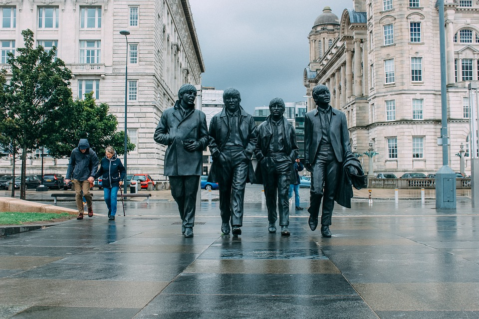 Beatle, Liverpool, Lloviendo, Los Beatles, Música