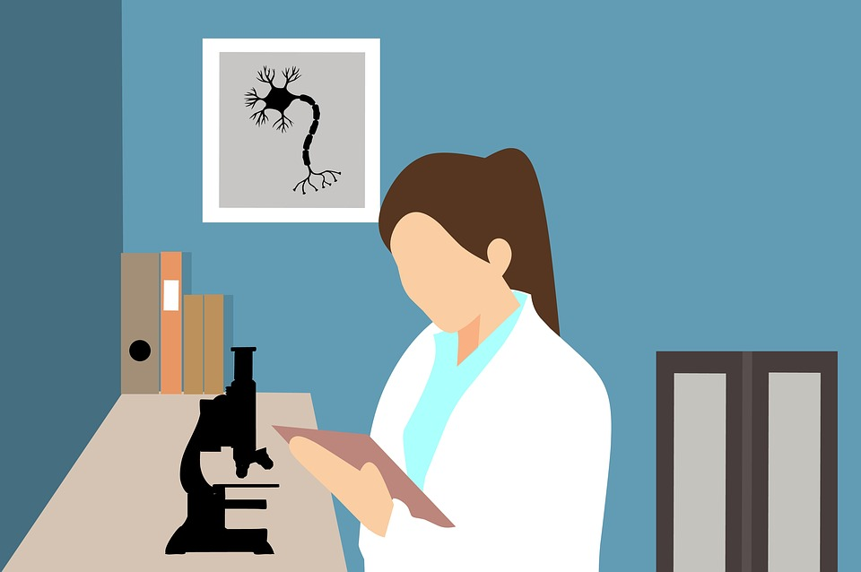 医師, 研究, 化学, 観察, 顕微鏡, 解析, 科学者, 科学, 研究室, 医療, 実験, 技術, 女性