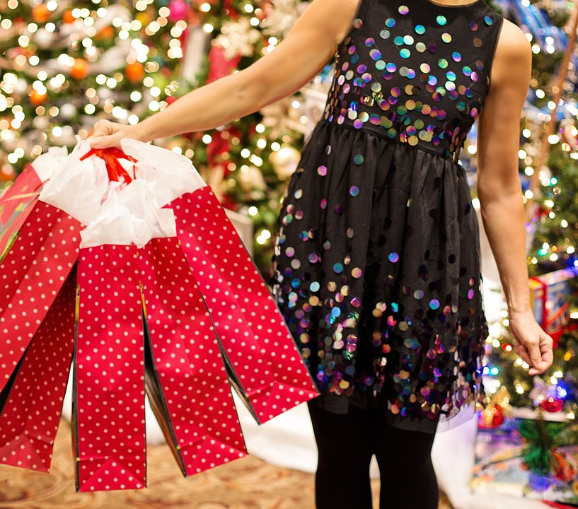 Compras De Natal, Presentes De Natal, Natal, Compras
