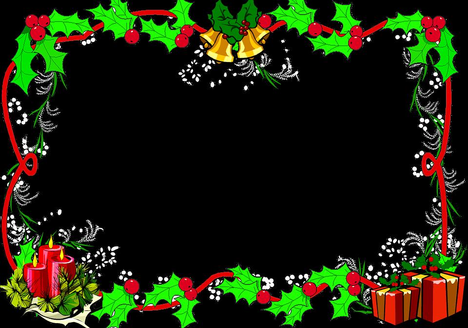 Cornici Di Natale Per Foto Gratis.Confine Di Natale Telaio Cornice Immagini Gratis Su Pixabay