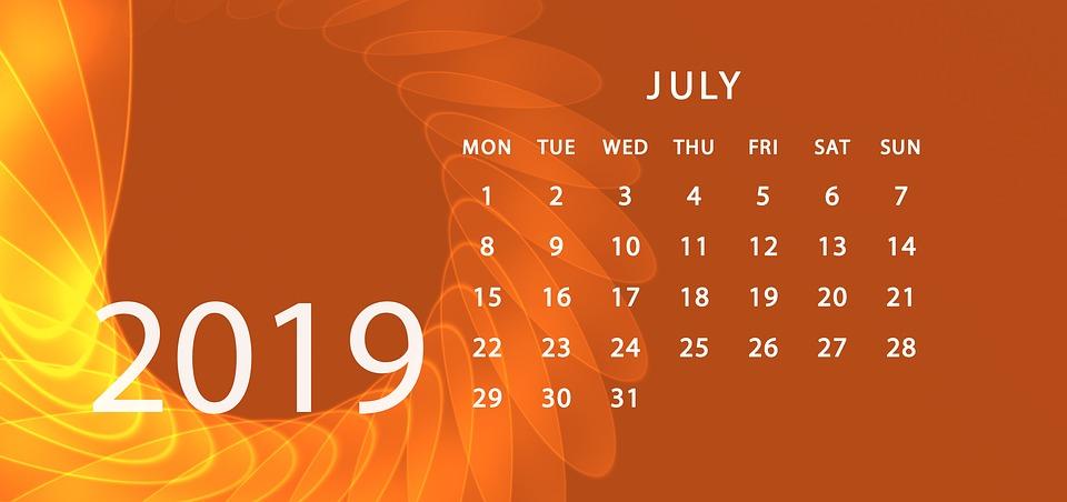 Agenda Calendar 2019 Schedule - Free image on Pixabay