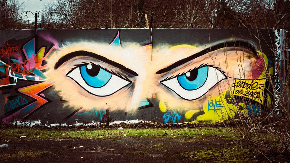 Graffiti Wall Eyes Free Photo On Pixabay