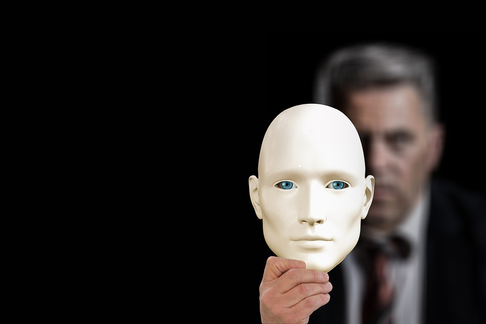 Mask, Businessman, Kaufmann, Second, Face, Psychology