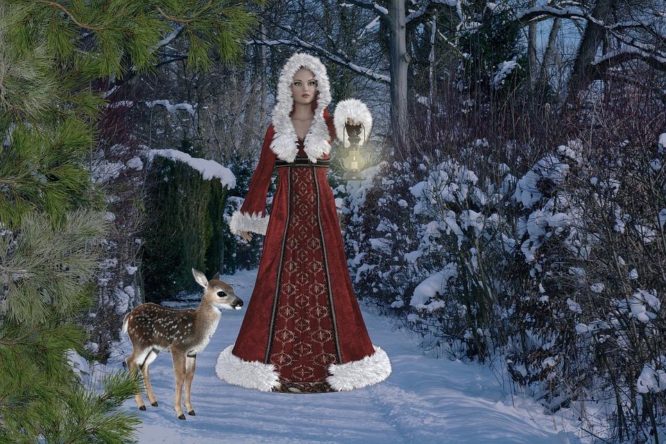 Weihnachten Mit Fantasy.Weihnachten Fantasy Winter Kostenloses Bild Auf Pixabay