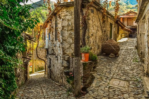Street, Architecture, Traditional, Stone