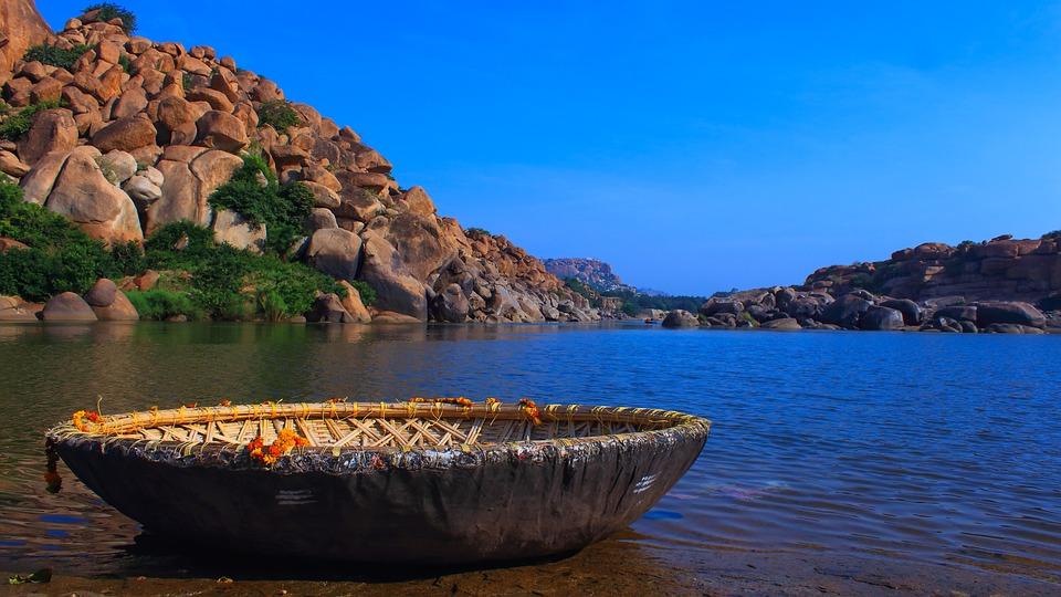 Bambus Boot Kultur Wasser Kostenloses Foto Auf Pixabay
