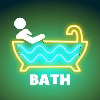 Bad, Budget, Door Sign, Apartment, Bath