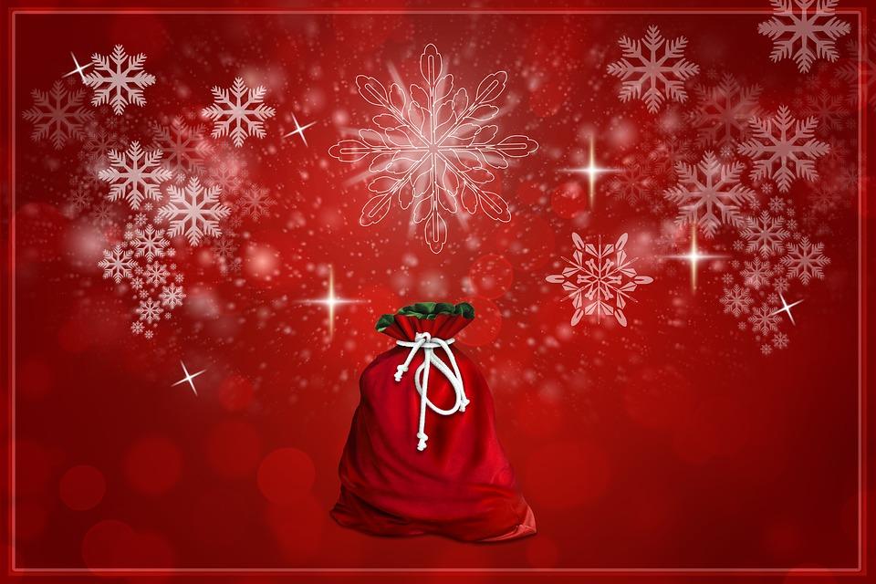 Weihnachten Sack Geschenke Kostenloses Bild Auf Pixabay