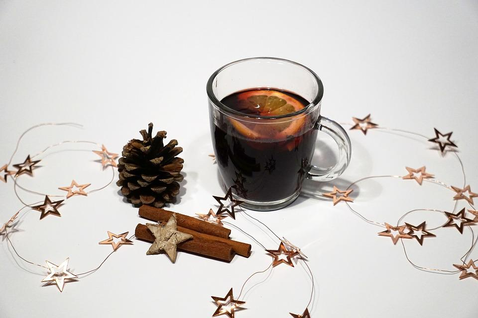 Mulled Claret, Winter, Cold, Christmas, Drink, Mood