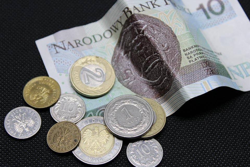 Zloty, Polen, Polnisch, Bargeld, Geschäft, Münzen
