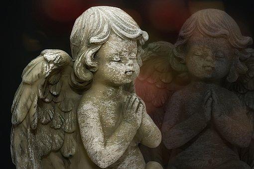 Angel, Statue, Figure, Sculpture, Wing