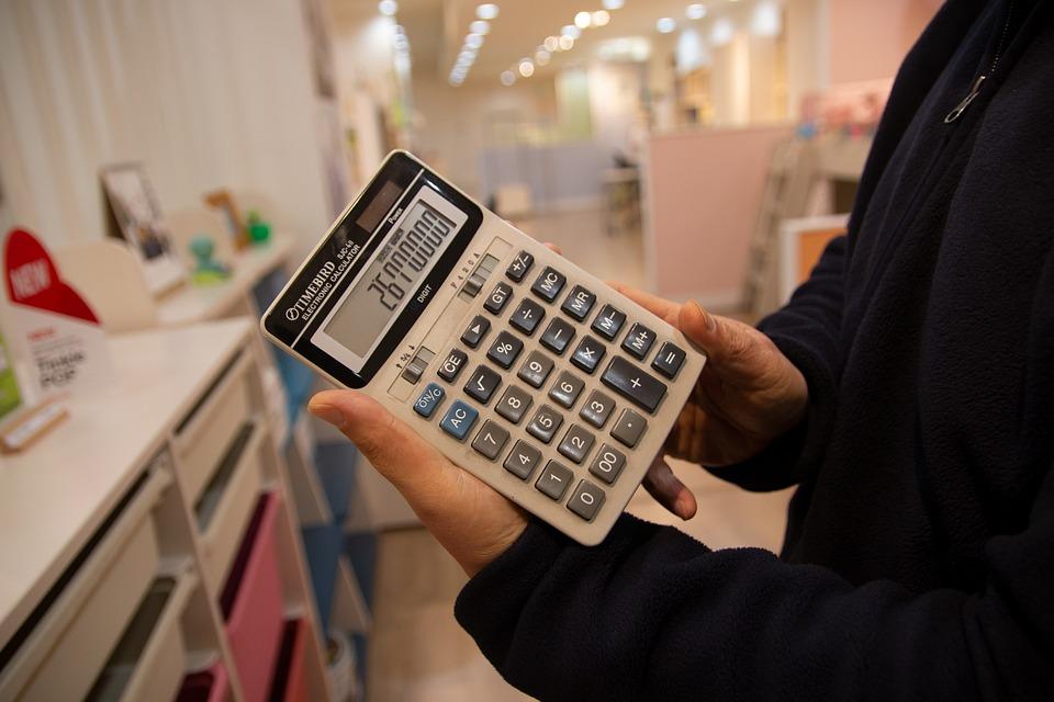 電卓, 価格, 見積もり, 支払, スタッフ, お店