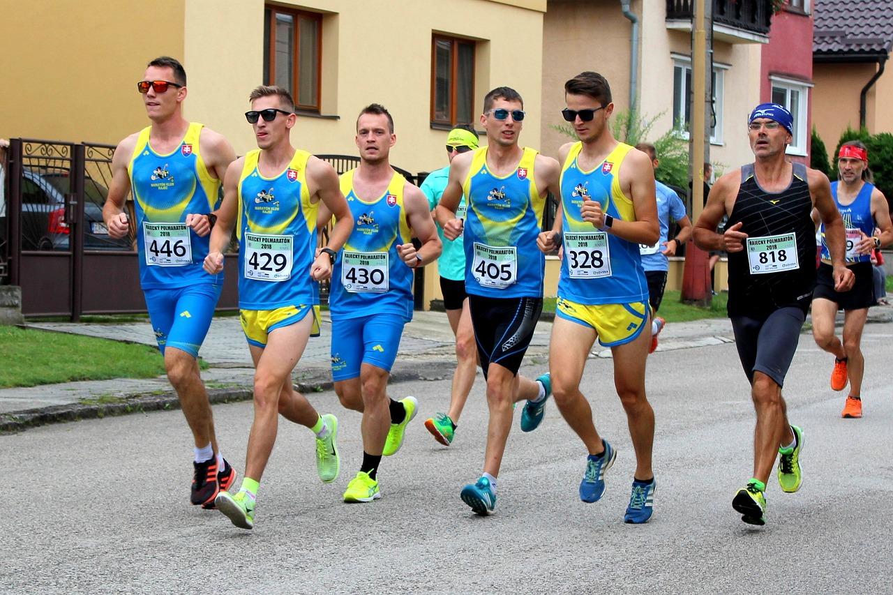 guys on a marathon