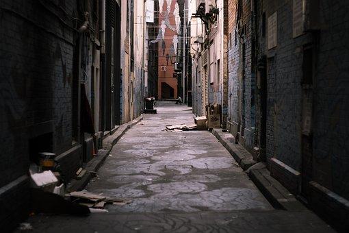 Ally, Street, Urban, City, Street Art