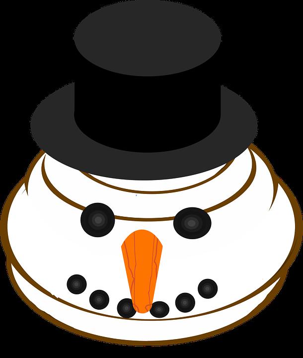 Bonhomme Graphique graphique bonhomme de neige emoji · images vectorielles gratuites