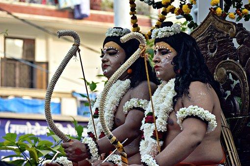 Costume, Ramleela, Ramayana, Ram