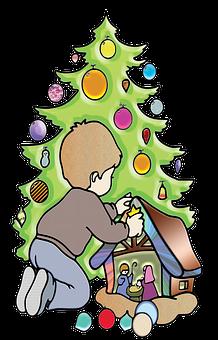 Weihnachten, Dezember, Parteien, Joy