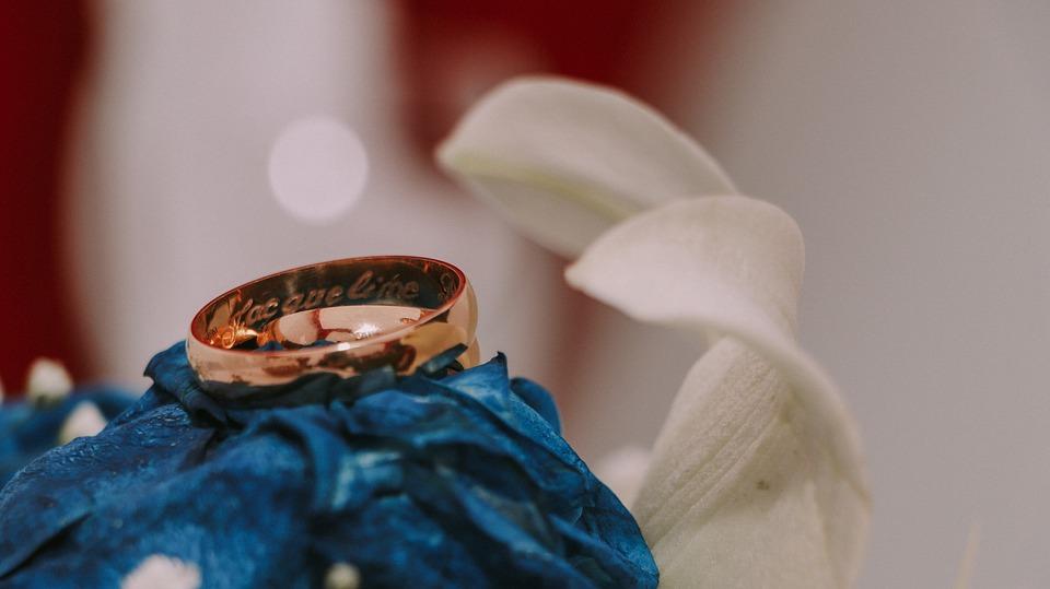 Hochzeit Rosa Blau Kostenloses Foto Auf Pixabay