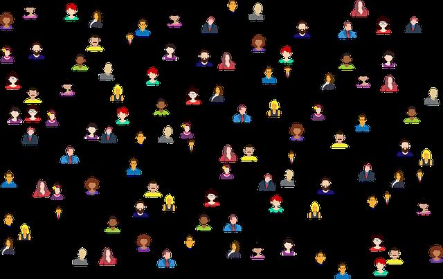 社会的なメディア, 接続, ネットワークの利用方法, ビジネス, 人, 通信, インターネット, 関係, 頭