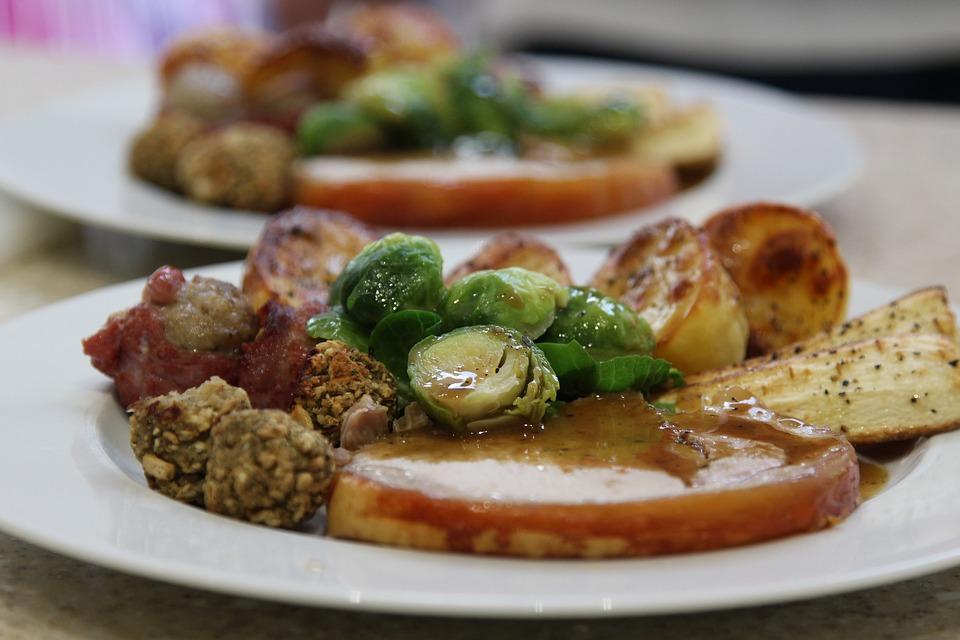 Cena Di Natale, Cena Di Famiglia, Delizioso, Pranzo