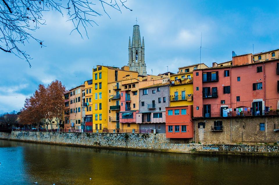 Girona Città Fiume - Foto gratis su Pixabay