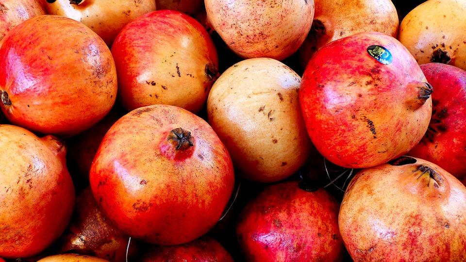 Frutas por colores salud