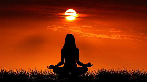 Sunrise, Yoga, Nature, Meditation, Sky