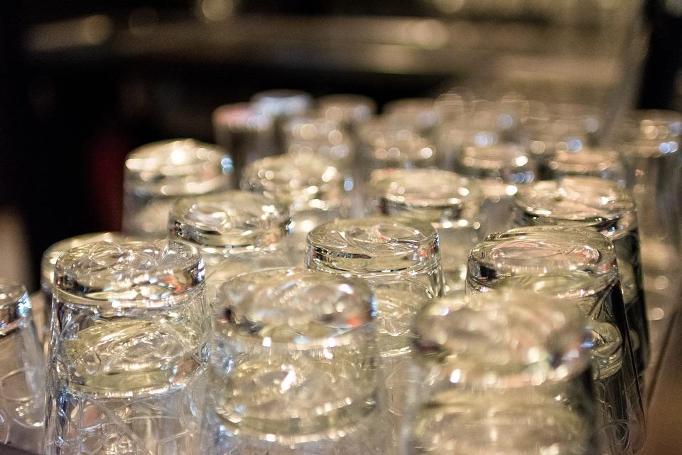 Glaswerk, Glazen, Horeca, Drinken, Bierglas, Glas