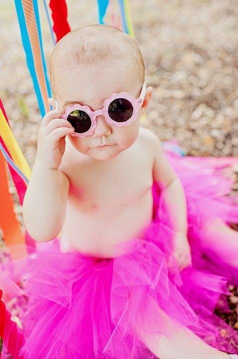disfruta el precio de liquidación profesional de venta caliente 2019 real Bebé Niña Lindo Gafas De - Foto gratis en Pixabay