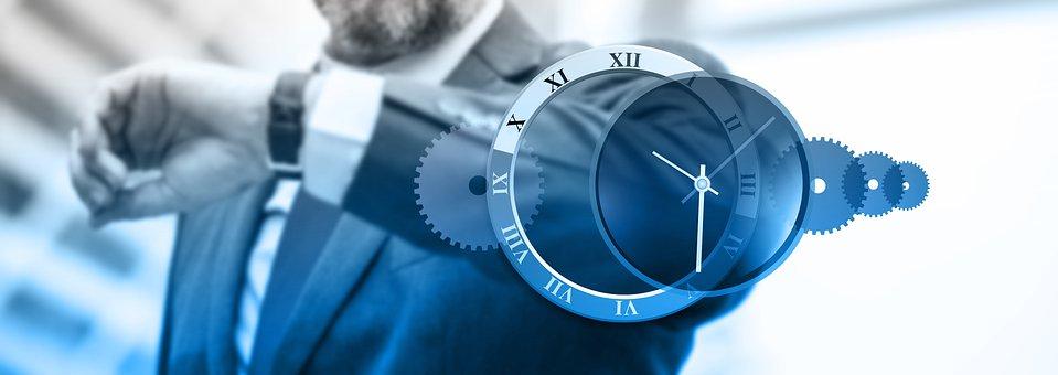 Geschäft, Termine, Hetze, Uhr, Zeit