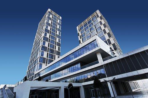 建物, 視点, アーキテクチャ, 都市, 近代, 超高層ビル, 高, 外部