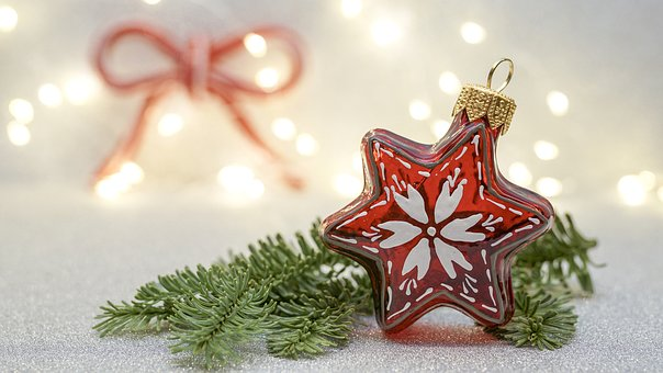 Noël, Décorations De Noël, Poinsettia