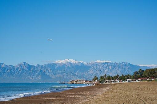 Antalya, Turkey, Lara, Marine, Water
