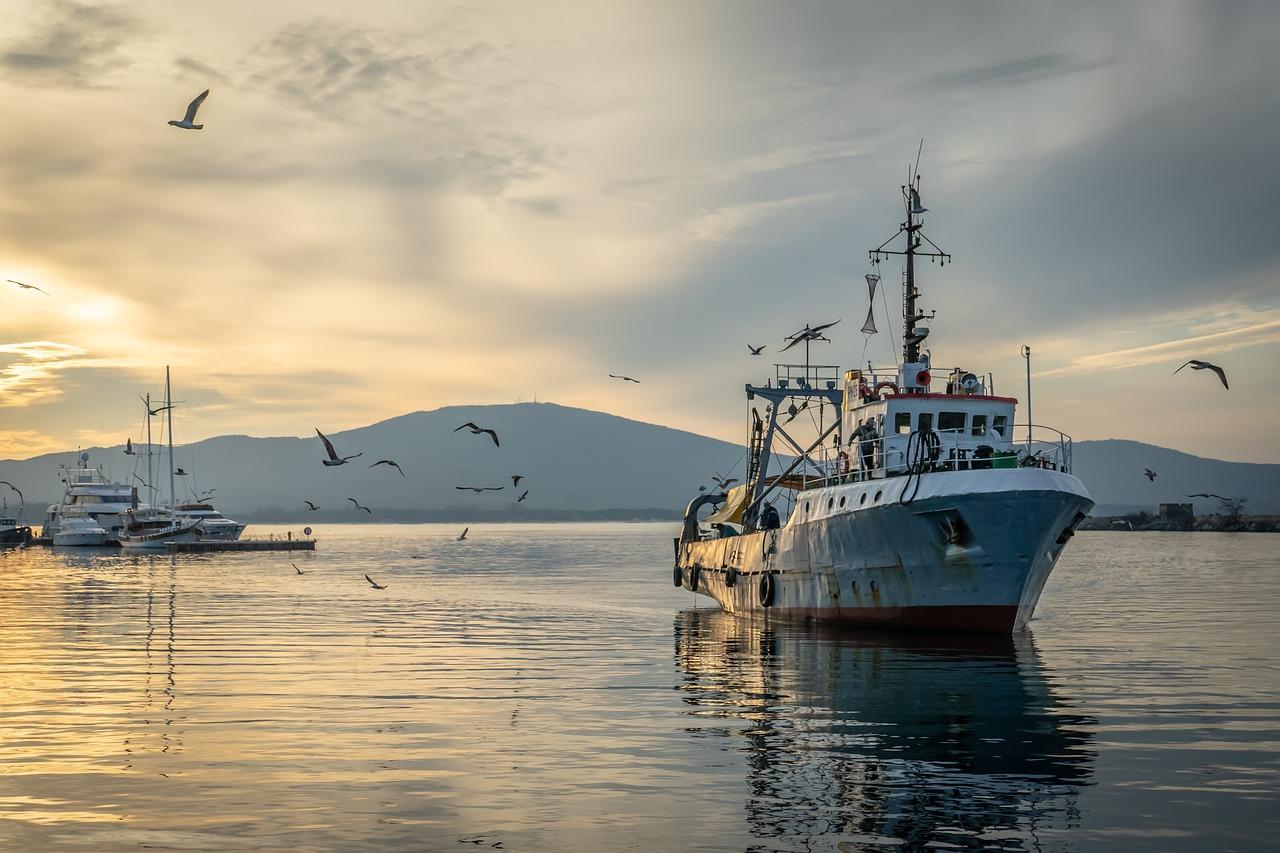 фотографии промысловых судов в море функциональность обеспечивает