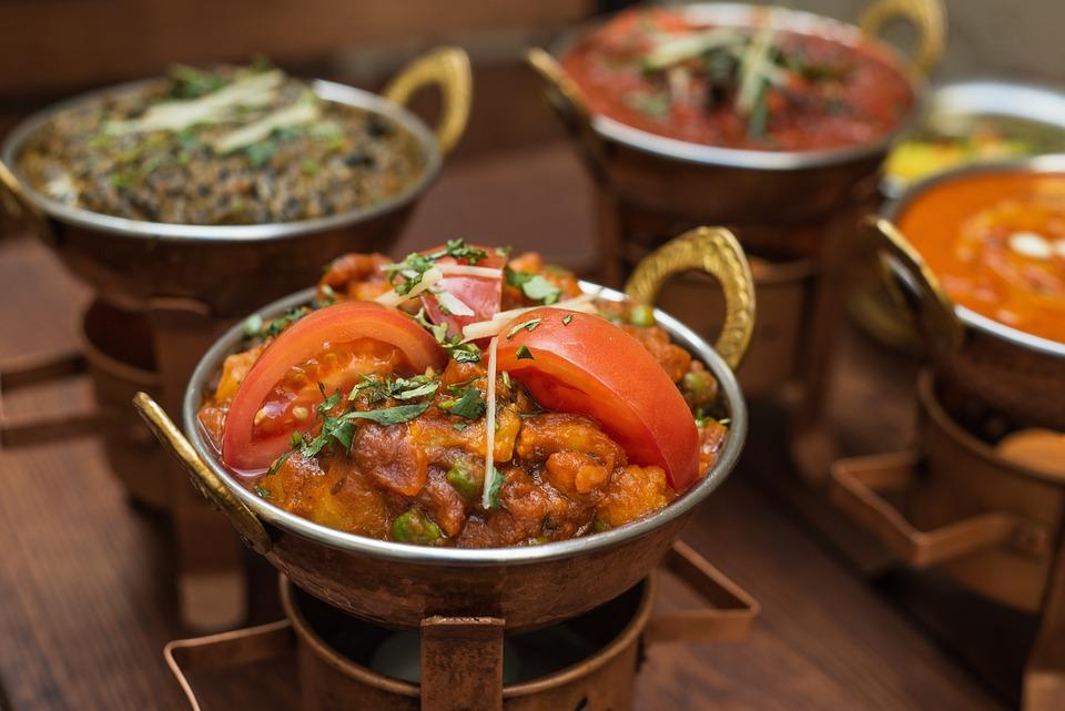 Indisk Mat, Indiske Kjøkken, Måltid, Matlaging, Spice