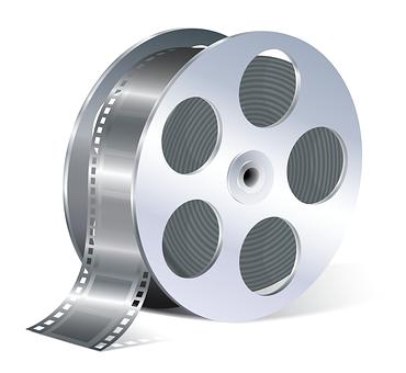 Filmrulle, Film, Ikon, Filmen, Video