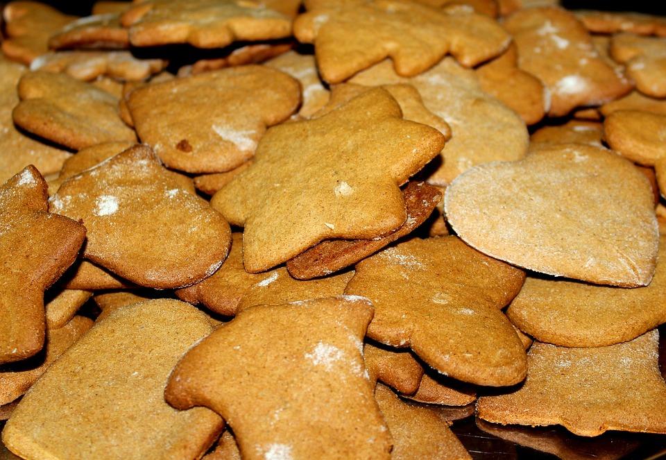Lebkuchen Kuchen Sternen Kostenloses Foto Auf Pixabay