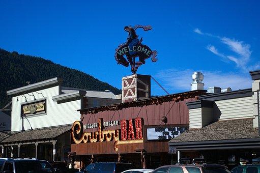 Jackson Hole Store Fronts, Wyoming