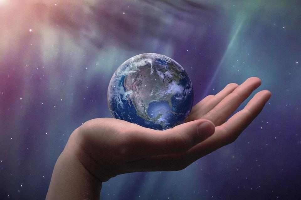 Glob, Wszechświat, Gwiazd, Ziemi, Przestrzeń, Planety