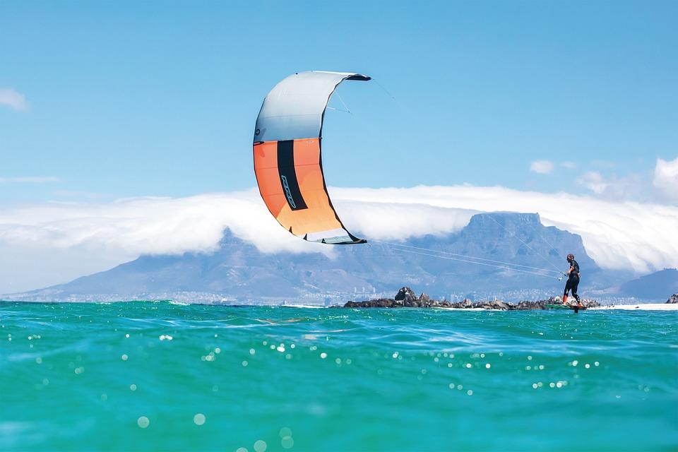 Kite Surf, Kitesurf, Mare, Sport Acquatici, Estate