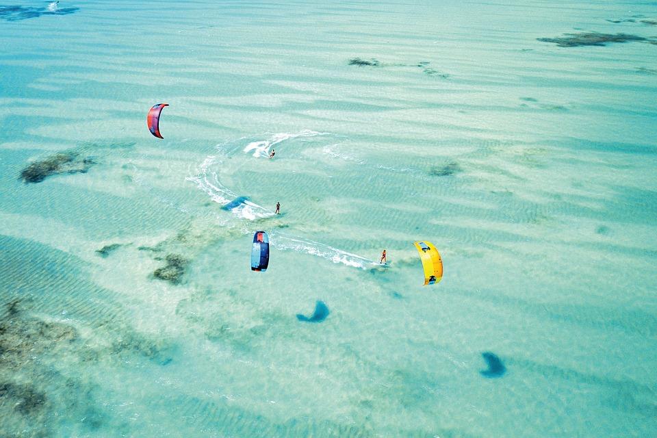 Surfing/Kiteboarding, Water activities in Zanzibar